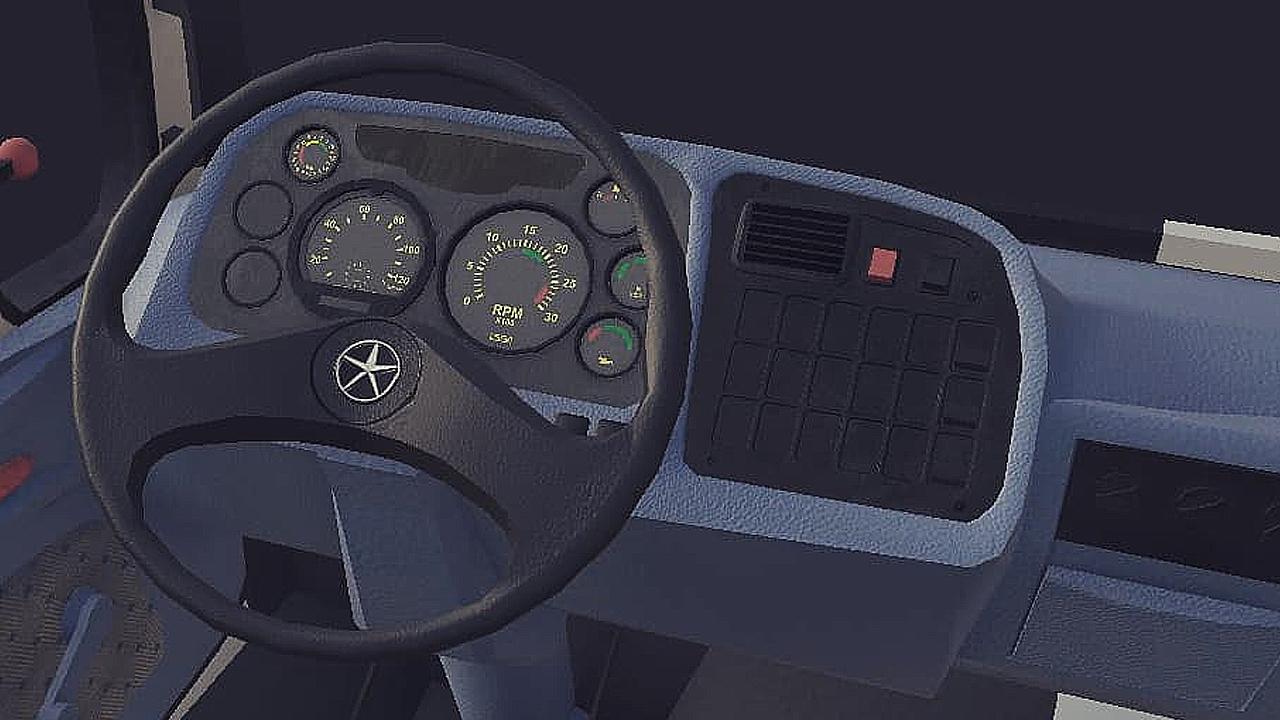 Grand Truck Simulator 2: Novas imagens do Mercedes-Benz 1620, confira!