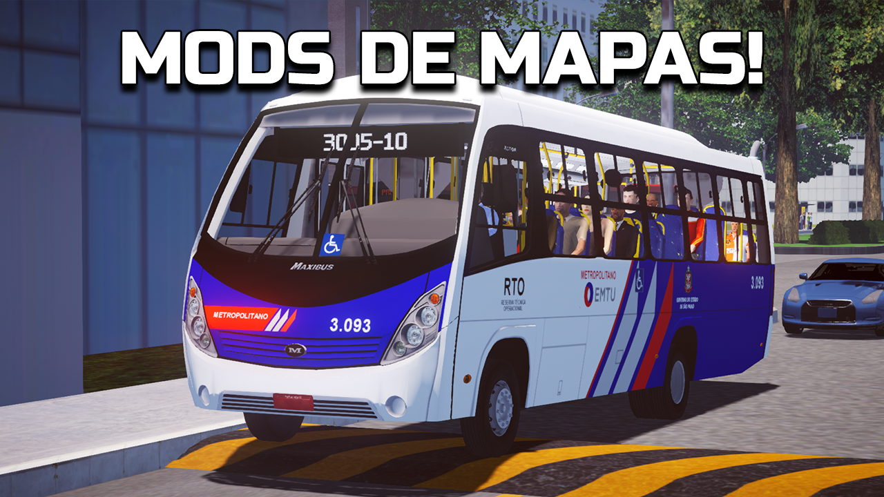 Proton Bus Simulator tem suporte a mods de mapas há meses e você não sabia – Chegaram os mods de mapas!