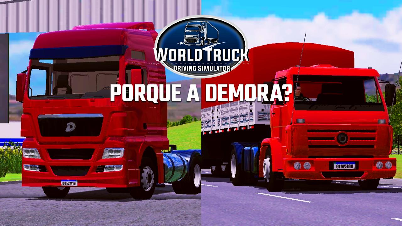 Dynamic Games explica demora para lançar atualização do World Truck Driving Simulator