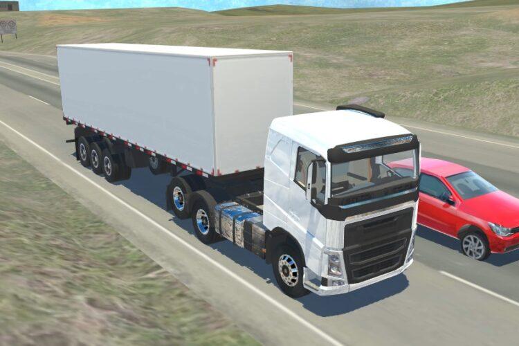 Novo simulador brasileiro: Truck Driving Simulator – Android
