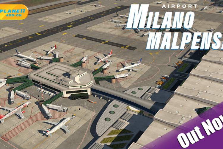 Nova Atualização do XPlane 11 – Novo Aeroporto Milano Malpensa