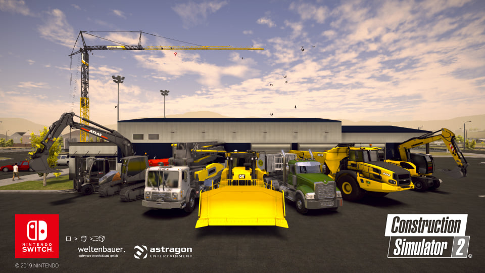 Construction Simulator 2 para Nintendo Switch