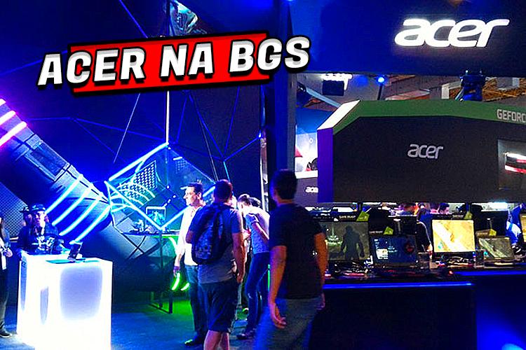 Confira todas as atrações no estande da Acer na BGS 2019