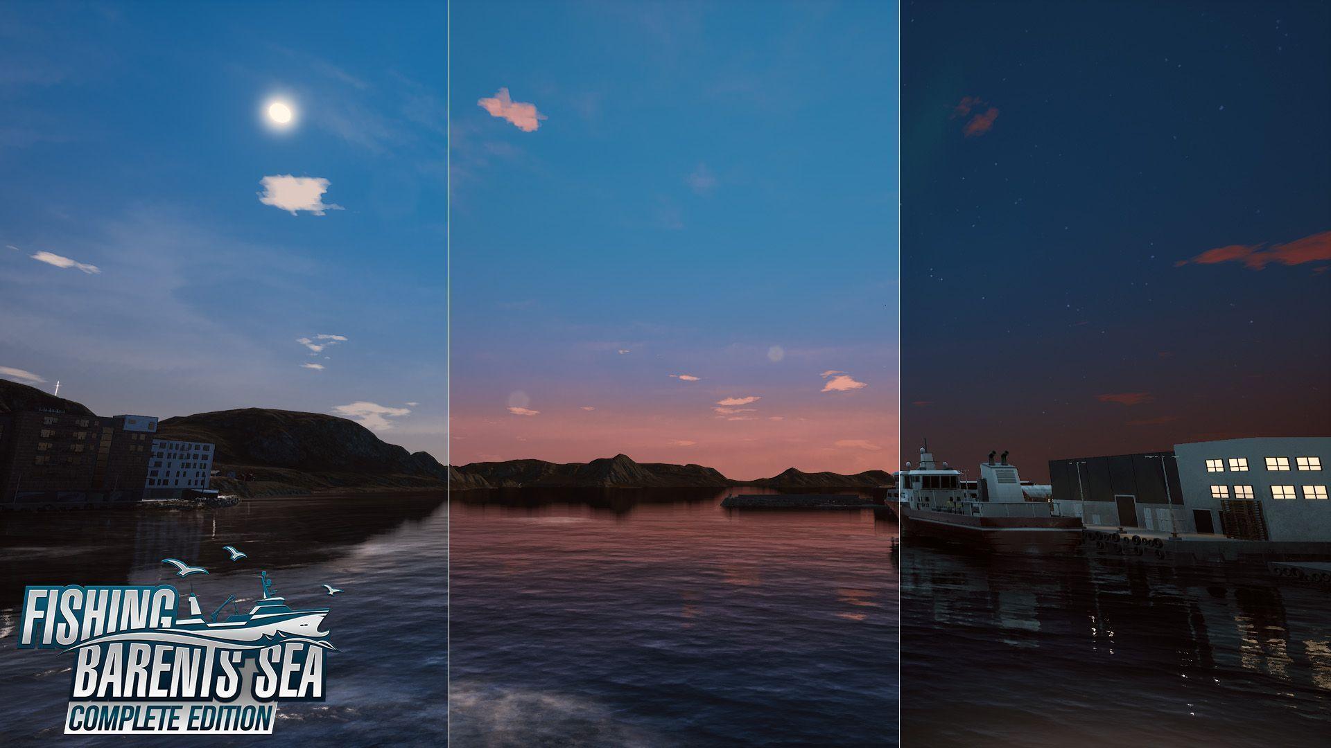 Fishing: Barents Sea – Ciclos diurno e noturno estarão disponíveis