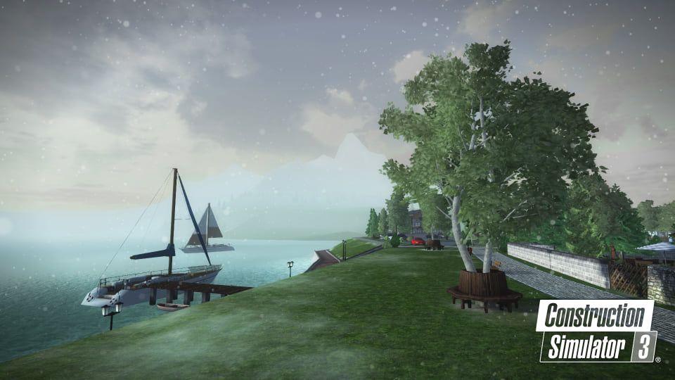 Astragon Entertainment anuncia nova atualização de inverno do Construction Simulator 3