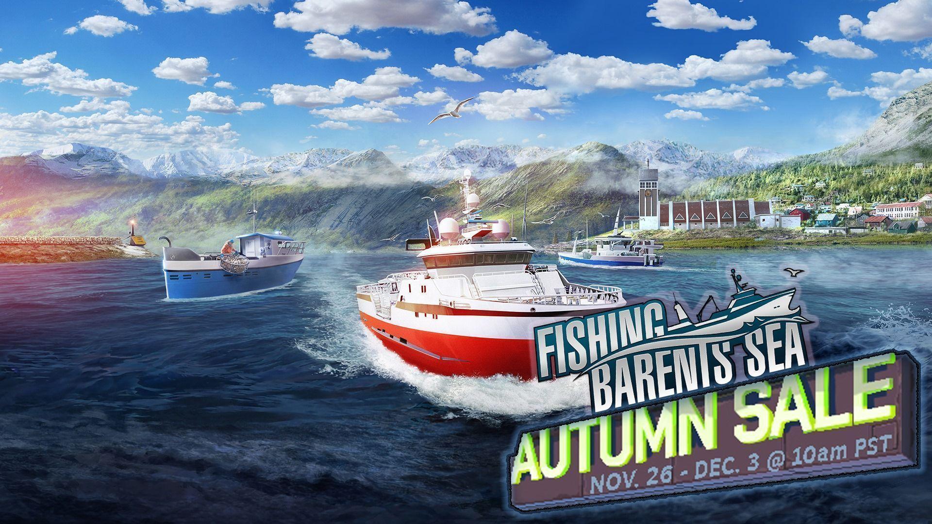 Fishing: Barent Sea – Promoção de outono relâmpago disponível