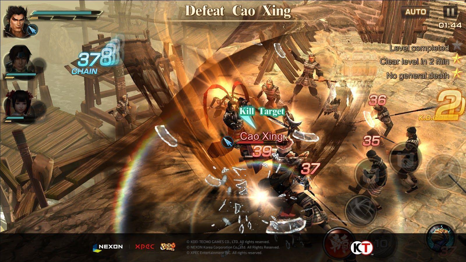 Dynasty Warriors Mobile está em pré-registro na China