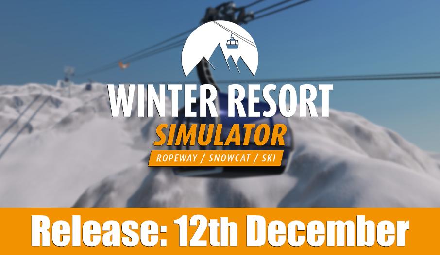 Winter Resort Simulator: Gerencie a própria estação em dezembro