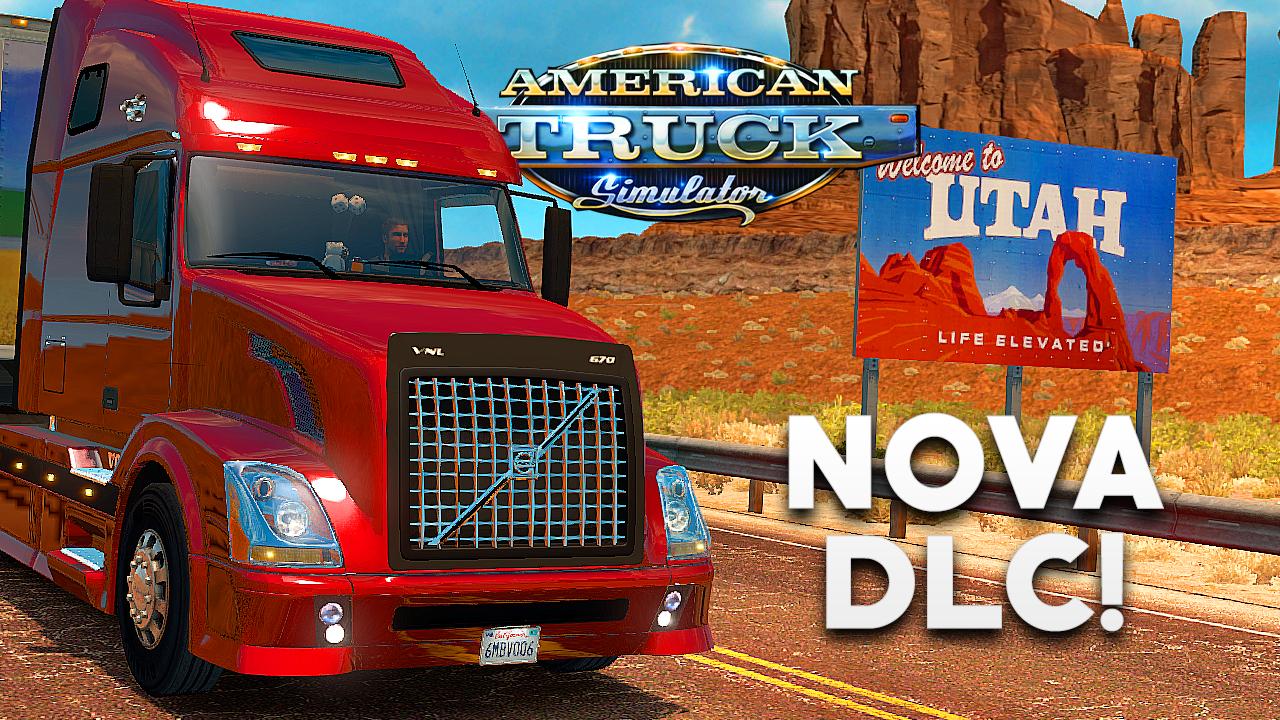 DLC do estado de Utah chega ao American Truck Simulator, veja como está!