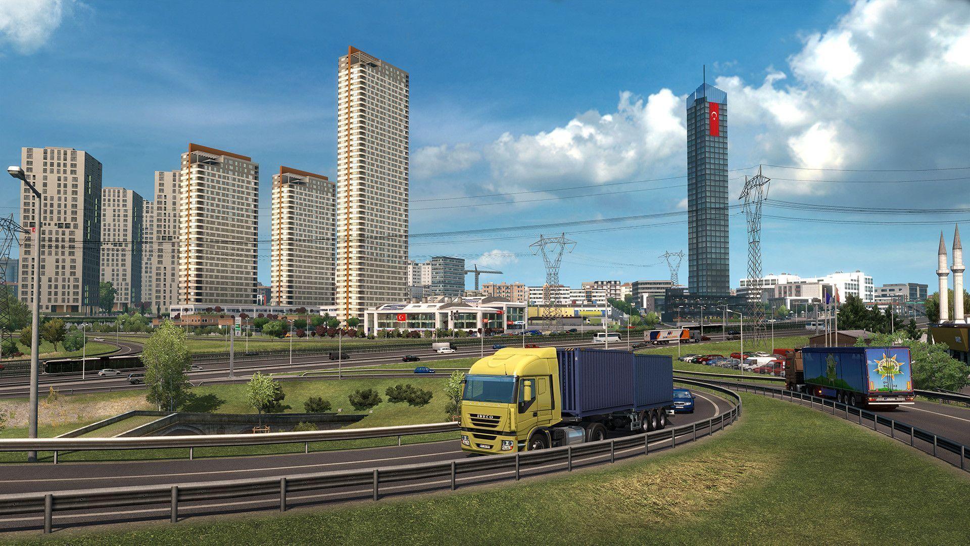 Euro Truck Simulator 2 – Horário de lançamento da DLC Road to the Black Sea!