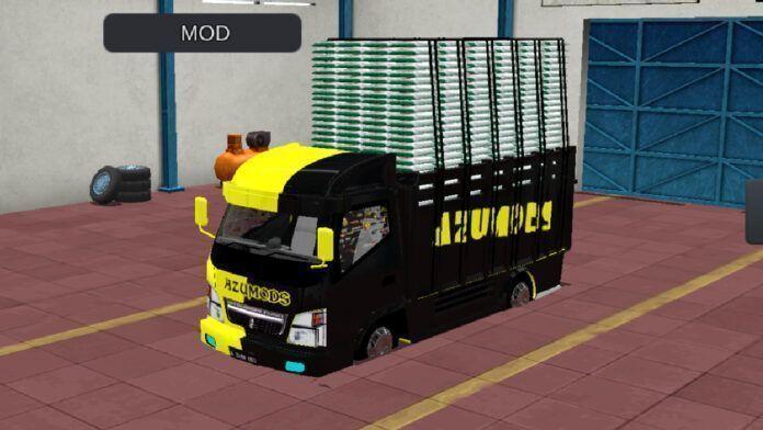 Lançamento do mod de caminhão para Bussid: Canter (Download)