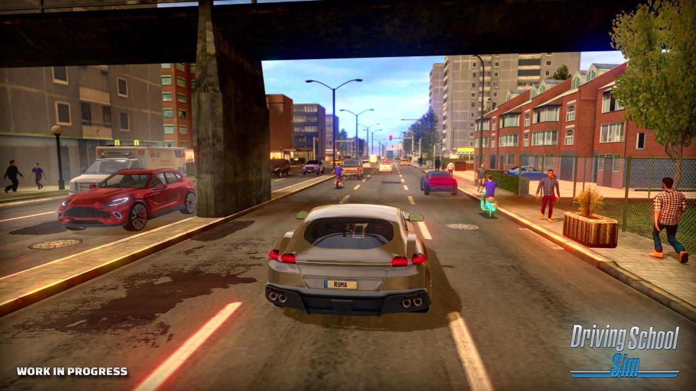 Driving School Sim terá escolhas de mapas no online, tuning completo, gráficos incríveis e muito mais!