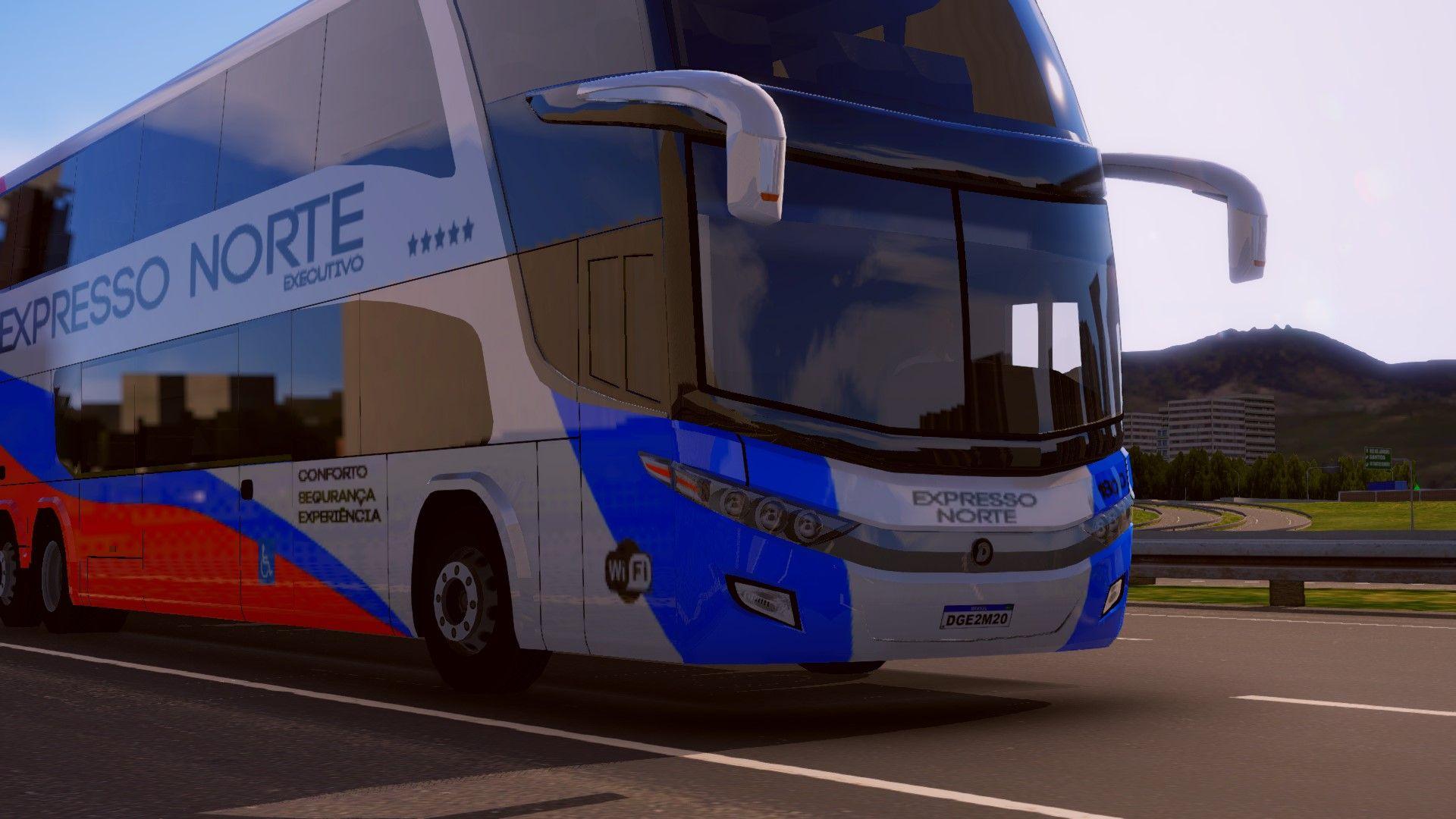 Paradiso 1800 6×2 é o mais novo ônibus do World Bus Driving Simulator, confira as imagens!