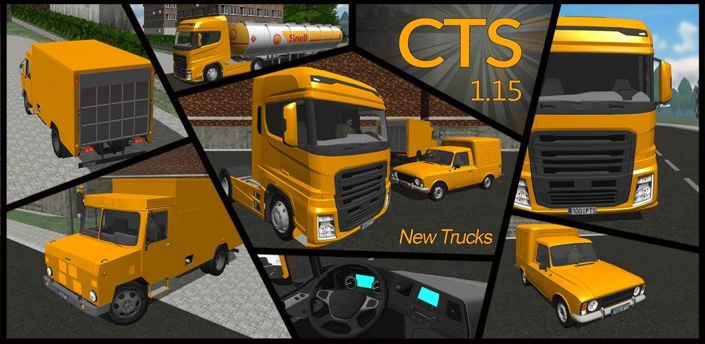 Atualização Cargo Transport Simulator – v1.15: 3 novos veículos e muito mais!