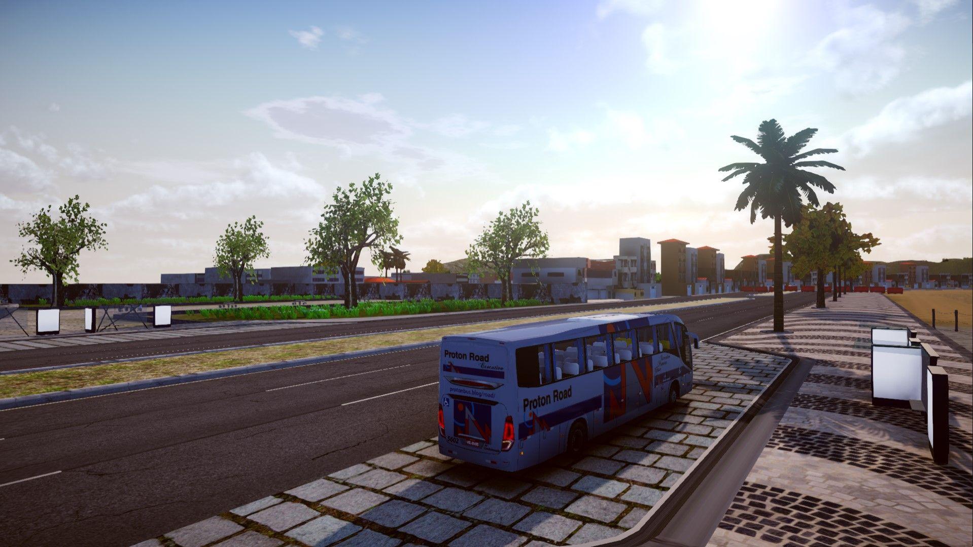 Assim será a nova Caraguatatuba no Proton Bus Road, confira a imagem!