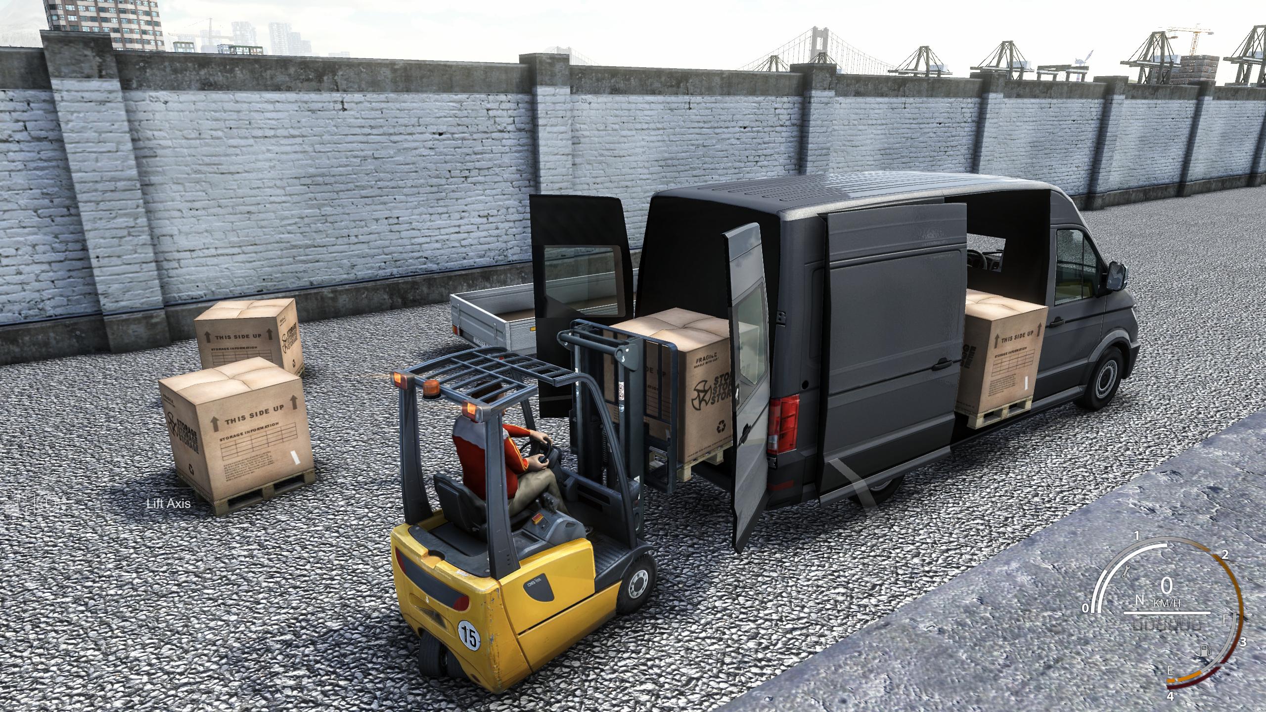 Truck & Logistics Simulator é lançado na Steam com preço promocional de lançamento